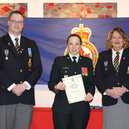 Presentation to 2837 Cadet Corps CO
