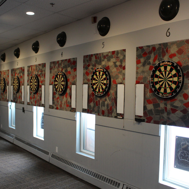 Six of our Ten Dartboards
