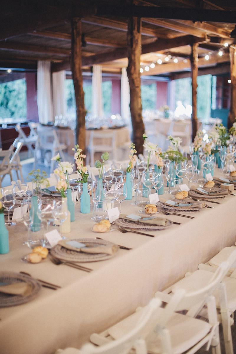 boda de verano en las cuadras organizada por detallerie