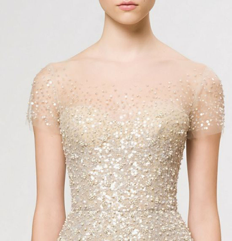 reem acra champagne dress_pinterest