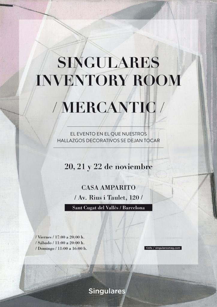 CARTEL_CAST_baja SINGULARES INVENTORY ROOM