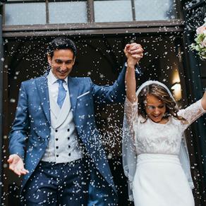 Pamela y Alberto. Una romántica boda internacional