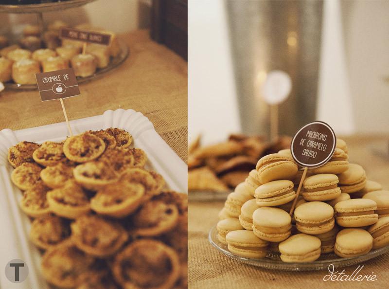 Detalles dulces buffet Sot Cakes