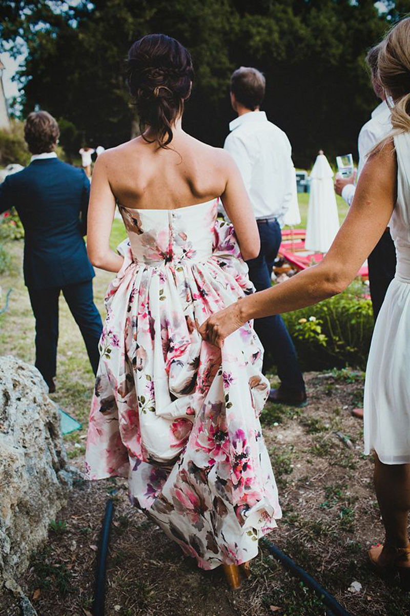 floral wedding dress_ pinterest