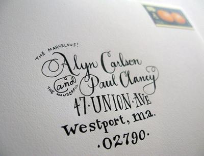 detallerie Carta caligrafia