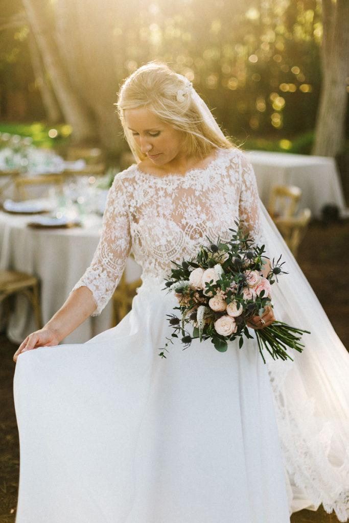 La novia bajo el sol