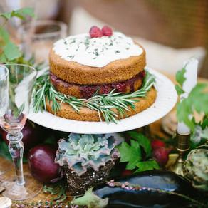 Inspiración de una orgánica boda en invierno