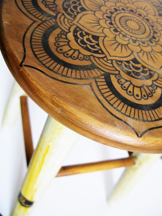 taburete van der wood