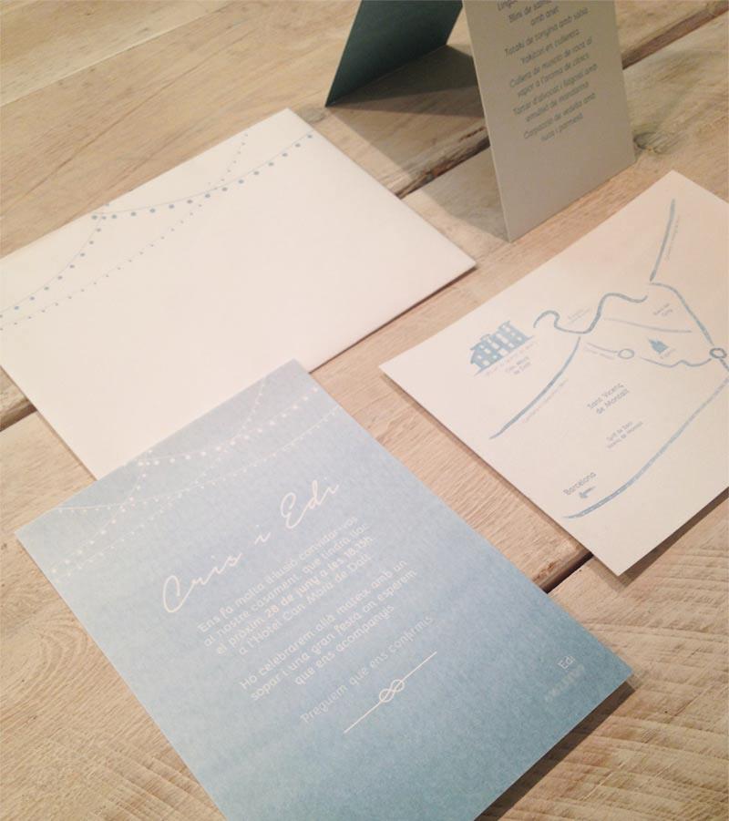 boda detallerie diseño gráfico_línea gráfica_boda verano
