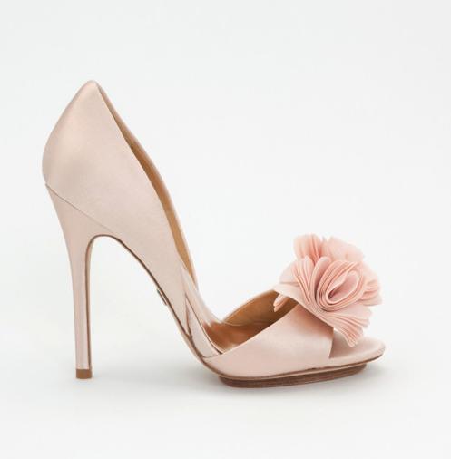 zapato rosa novia