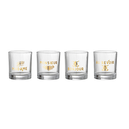 Set de vasos Soireé