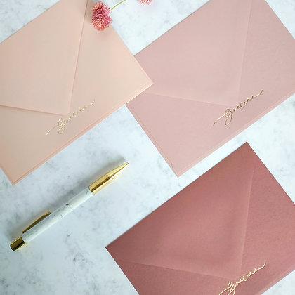 Cherry Blossom · Tarjetas de agradecimiento