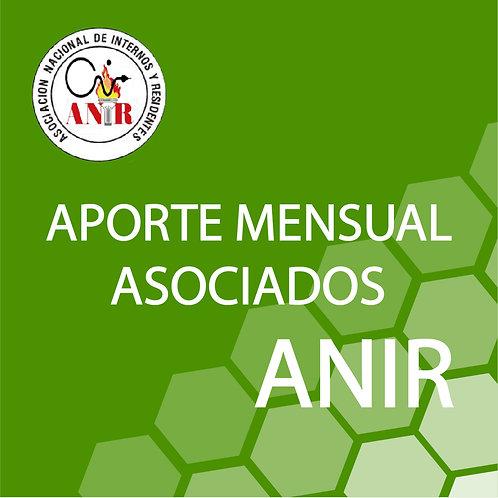 Aporte mensual ANIR 2020