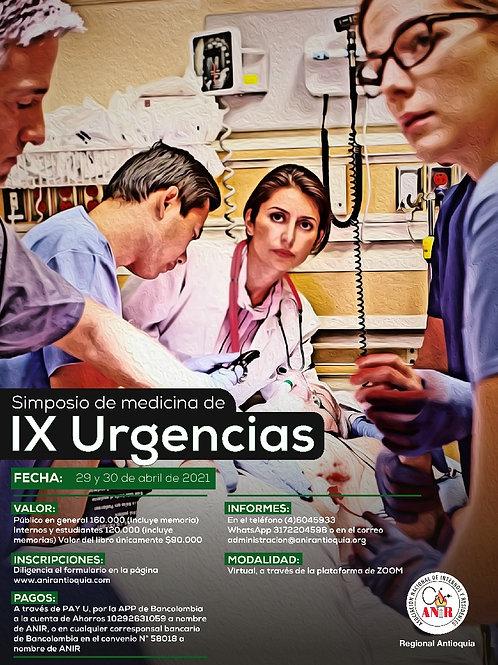 IX Simposio Medicina Urgencias + Memorias (Estudiantes)