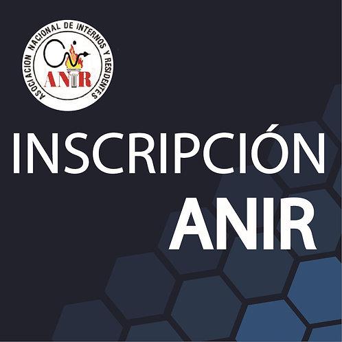 Inscripción ANIR