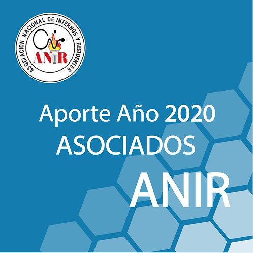 Aporte año ANIR 2020