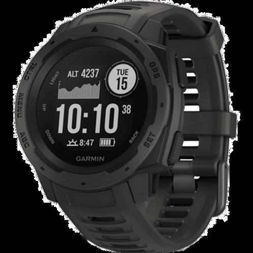 Garmin GPS Watch, Instinct, Graphite