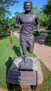 Andrew Payne, Cherokee, Winner of inaugural Los Angeles to New York Marathon