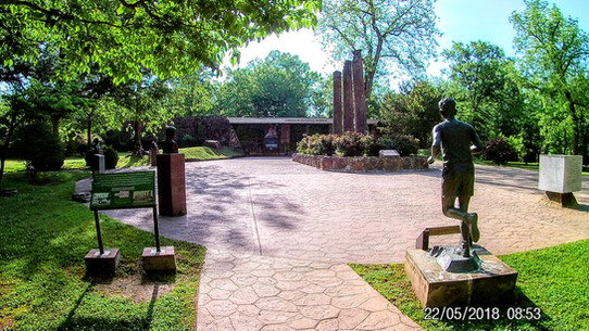 Grounds of Cherokee National Museum