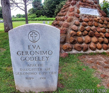 Grave of Geronimo's daughter