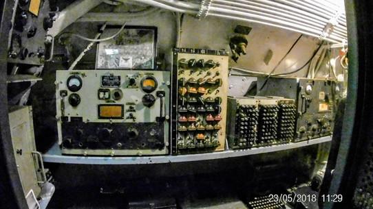 Instrumentation inside USS Batfish