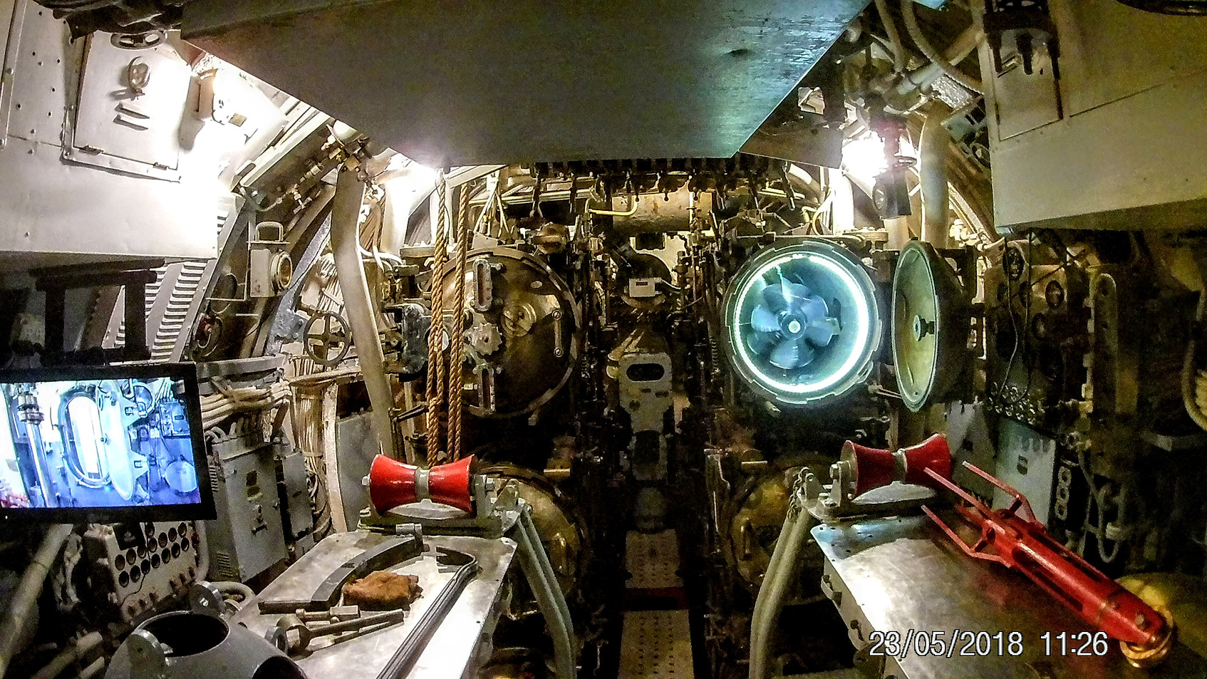 Inside the USS Batfish
