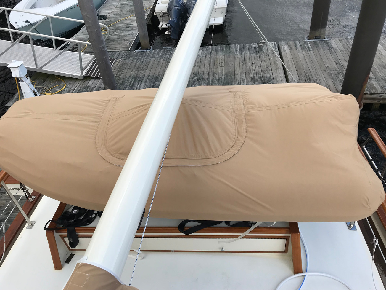 Canvas Dingy Cover