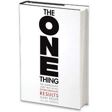 The ONE Thing Book cover for YouTube 03.