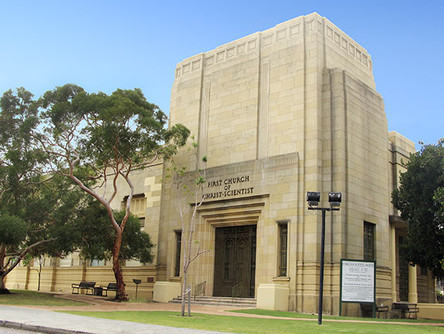 First Church of Christ Scientists - Perth