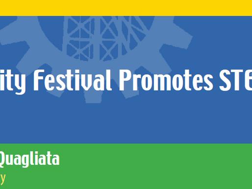 "Authored article ""University Festival Promotes STEM Education."""