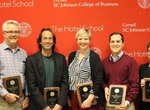 2017 Hotel School Faculty Awards