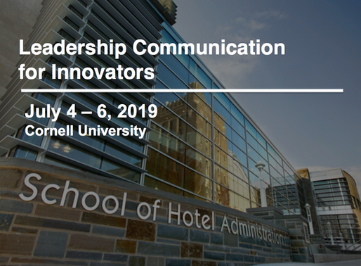 Leadership Communication for Innovators