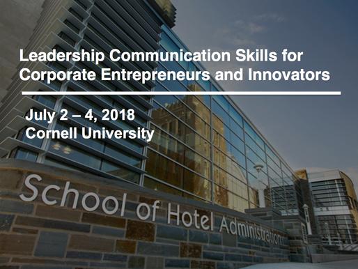 Leadership Communication Skills for Corporate Entrepreneurs
