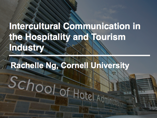 Hospitality workers in the U.S. and Singapore differ in their approaches to communication