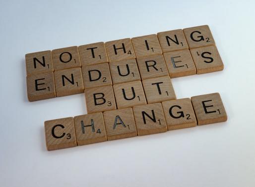 Nothing Endures But Change