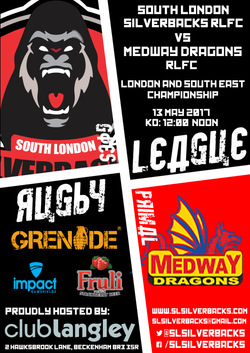 Medway Dragons League Home