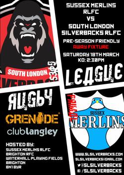 Sussex Merlins pre-season (Away)