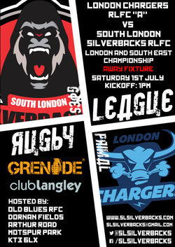 London Chargers A League Away
