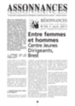 entre emmes et hommes centre jeunes diigeantsBrest, théâtre forum, arc en ciel théâtre
