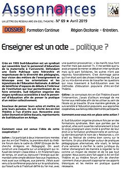 enseigner est un acte politique ?, théâtreforum, Sud Education, Ariège, arc en ciel thâtre