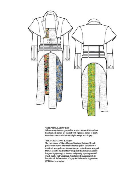 """Sleep Simulator"" Gown (Original Look Concept)"