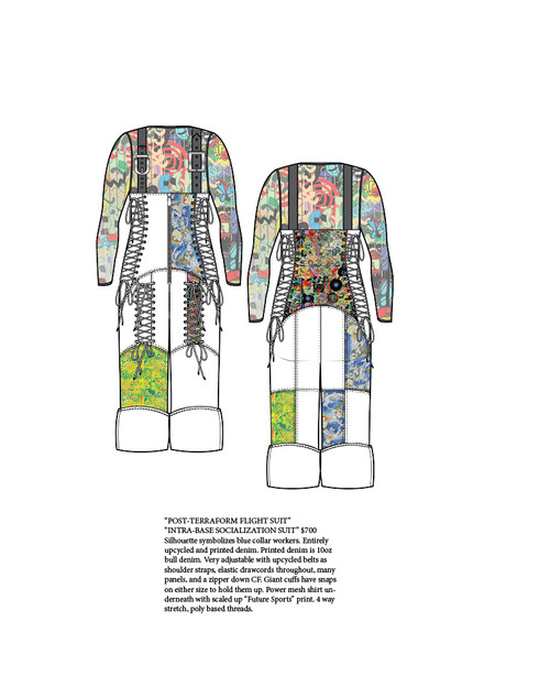 """Intra-Base Socialization Suit"" (Original Look Concept)"
