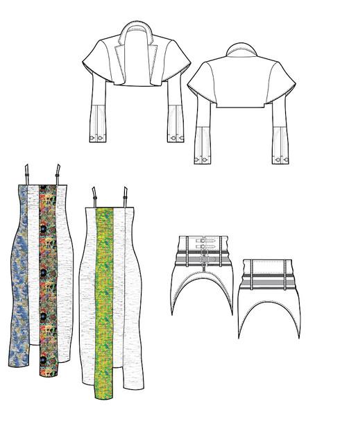 Sleep Simulator Gown (Original Look Concept)