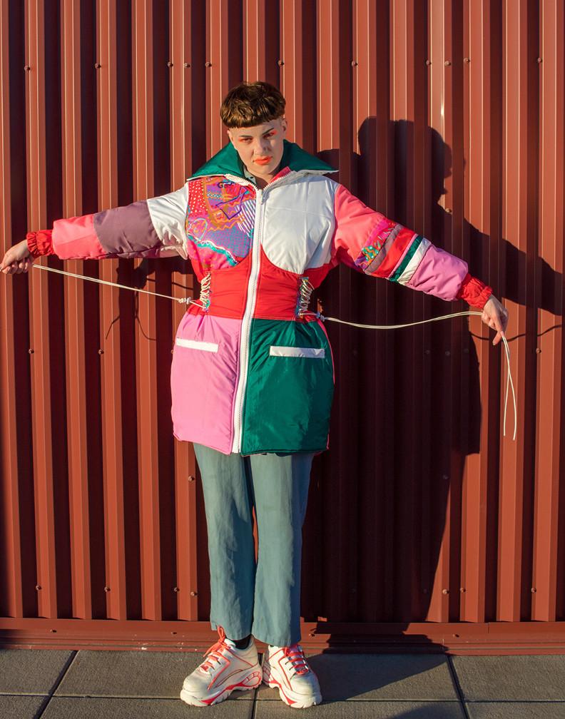 Bellyflop Scrap Ski Jacket
