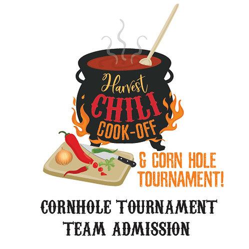 Cornhole Tournament Team (of 2) Entry Fee