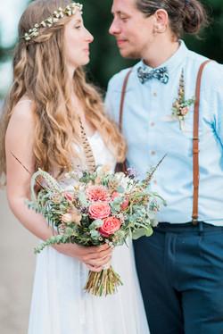 Jen & Adam Summer wedding at Houchins