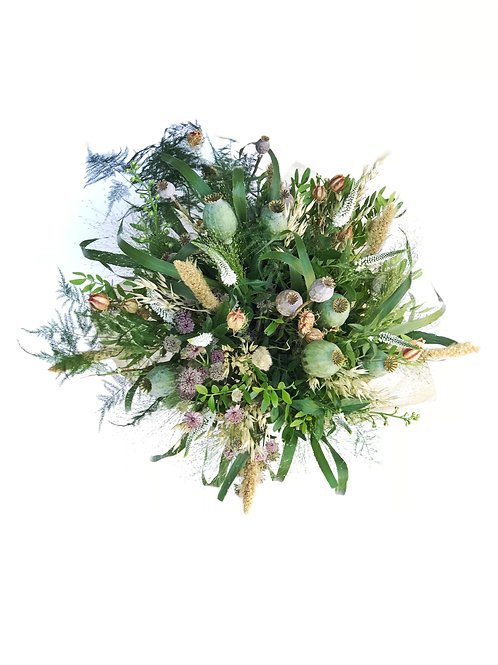 Foraged gift bouquet