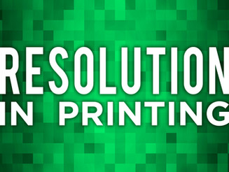 Resolution in Printing