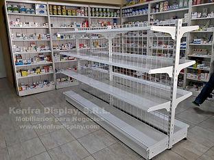 gondola de farmacia, trameria de farmacia