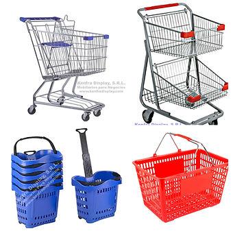 Carritos y canastas de compra